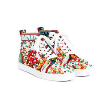 CHRISTIAN LOUBOUTIN | Louis Orlato Paros Hawaii Sneakers | Womenswear | Browns Fashion