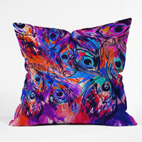 Holly Sharpe Rapture II Throw Pillow