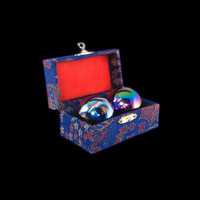 Chinese Meditation Stress Health Balls with Box