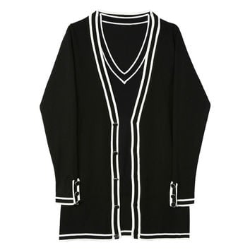 Nautical Cardigan and Sweater Co-ord