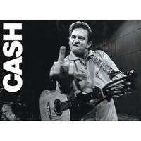 Johnny Cash - Subway Poster