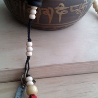 Tibetan Buddhist Japa Mala Rosary 41. Traditional Japa with 108 beads.