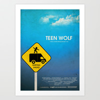 Teen Wolf Art Print by Tommaso Valsecchi