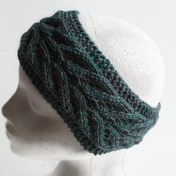women  headban knitted earwarmer   uk seller