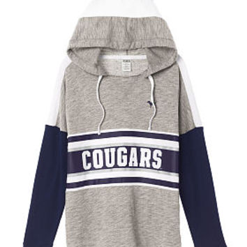 Brigham Young University Varsity Pullover Hoodie - PINK - Victoria's Secret