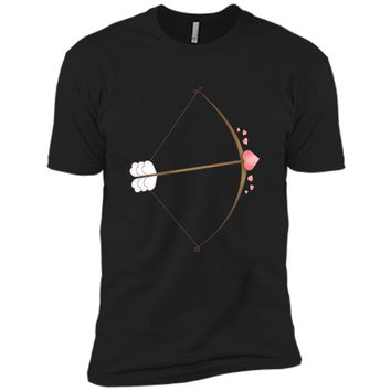 Valentines Day Heart Bow Arrow Cute T-Shirt