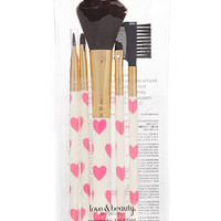 Heart Print Brush Set