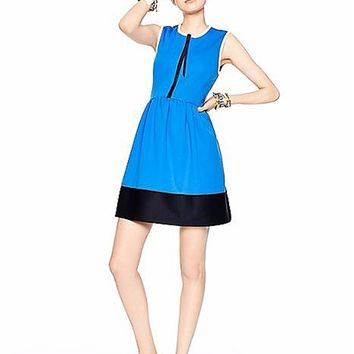 kate spade new york Kate Spade Colorblock Scuba Dress