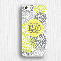 yellow floral iphone 5 cases, personalized iphone 5s cases, soft iphone 5c cases,personalize iphone 4 cases,iphone 4s cases,d124-2
