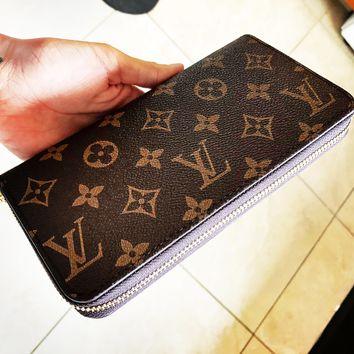 LV Louis Vuitton Classic Women's Men Leisure Wallet Purse