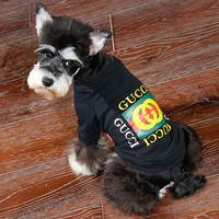 Luxury GUCCI Dog Pet Puppy Clothing Shirt Top Coat