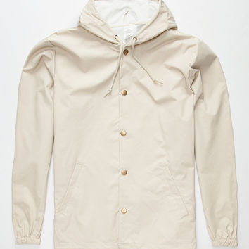 Standard Supply Slick Mens Windbreaker Khaki  In Sizes