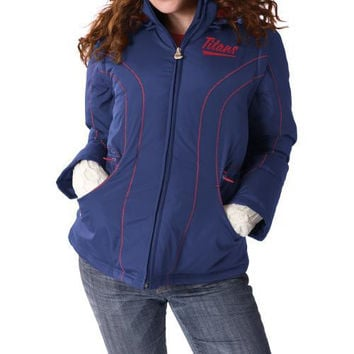 Reebok Tennessee Titans Women's Cinched 4-in-1 Jacket