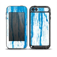 The Running Blue WaterColor Paint Skin for the iPod Touch 5th Generation frē LifeProof Case