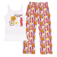 David and Goliath Shakin Bacon Womens PJ Set