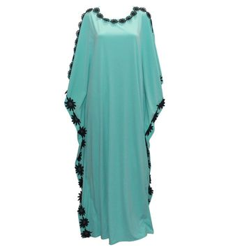 Tilapia new casual design kaftan women dress plus size african style femme vestidos maxi long summer autumn dress