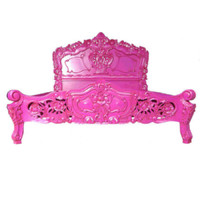 Fabulous and Rococo Bed - Fuchsia, fabulous and rococo furniture, Rococo kids furniture, rococo bed, baroque bed, funky kids bed,