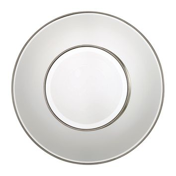 Odelia Contemporary Round Wall Mirror by Uttermost