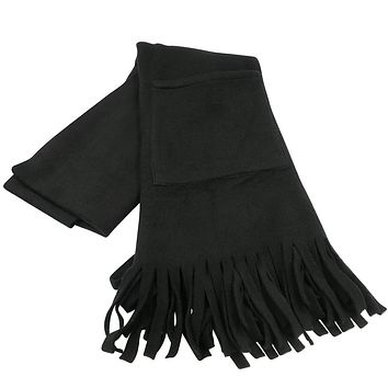 Evelots Cappa/Scarf/Shawl-Keep Shoulders/Hands Warm-Soft Polar-Large Pockets