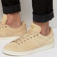 adidas Originals Stan Smith Trainers In Beige BB0039 at asos.com