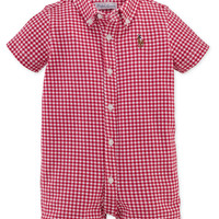 Ralph Lauren Baby Boys' Gingham Shortall