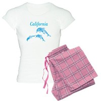 California Dolphins Women's Light Pajamas on CafePress.com