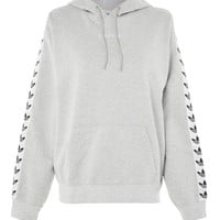 Trefoil Tape Hoody by adidas Originals - Tops - Clothing