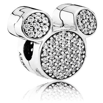 Mickey Mouse Ears Charm by PANDORA | Disney Store
