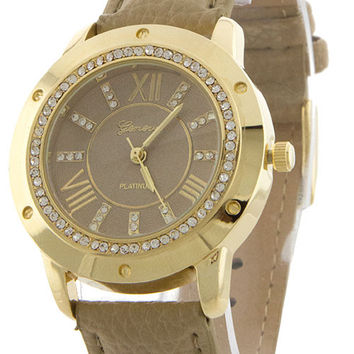 Gorgeous Pave Edge Watch
