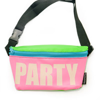 Party Glow In The Dark Fanny Pack