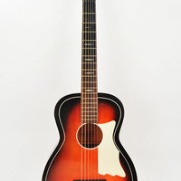 Sale- 100 off -Vintage Acoustic Parlor Guitar - D&H With Painted-On Pickguard