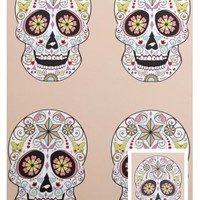 SUGAR SKULL WRAPPING PAPER & TAG
