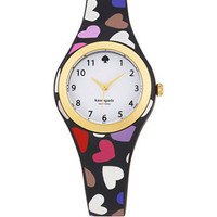 Kate Spade New York Rumsey Heart Rubber Bracelet Watch