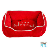 "Martha Stewart Pets® ""Gone Fetching"" Cuddler Dog Bed"