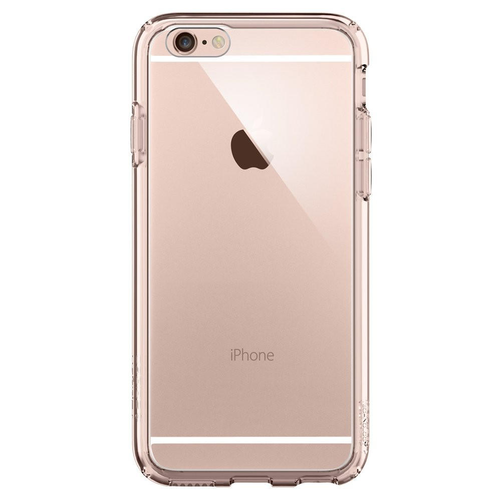 The Rose Gold and Clear Ultra Hybrid Bumper iPhone 6 6s Case 00963af5f8e6