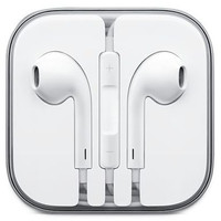 Classic White Earbuds