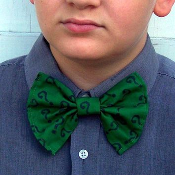 The Riddler Bow Tie Batman DC Question Mark