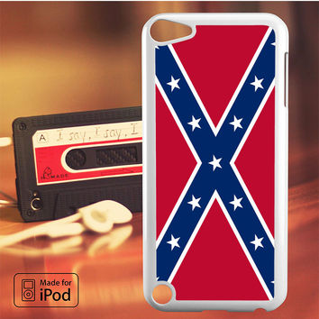 Confederate Rebel Flag iPod Touch 4 5 6 Case Cover