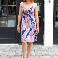 Sexy Paisley Print Veronica M Cami Tank Dress-$98.00 | Hand In Pocket Boutique