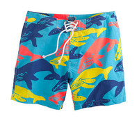 """7"""" board shorts in whale print - vacation shop - Men's Men_Special_Shops - J.Crew"""