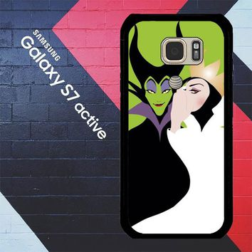 Evil Queen And Maleficent X4713 Samsung Galaxy S7 Active Case