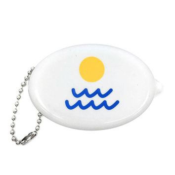 Sun + Waves Beach Coin Pouch
