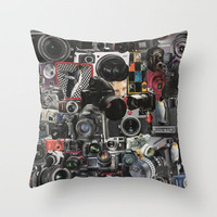 COLLAGE LOVE: How Do You See the World? Throw Pillow by Shawn Terry King | Society6