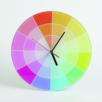 Colour clock from sonodesign | Made By sonodesign | £34.99 | BOUF