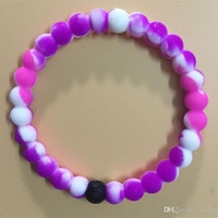 Shopnelo New Arrival Lokai  Best For Thanksgiving Gift (mix purple and white color lokai )