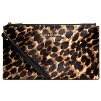 MICHAEL Michael Kors Handbag, Jet Set Travel Haircalf Clutch - Shop All Michael Kors Handbags & Accessories - Handbags & Accessories - Macy's