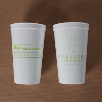 CG Logo 22oz Stadium Cup - White