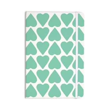 "Project M ""Mint Up and Down Hearts"" Everything Notebook"