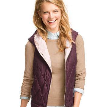 Signature Hooded Quilted Vest: Vests | Free Shipping at L.L.Bean