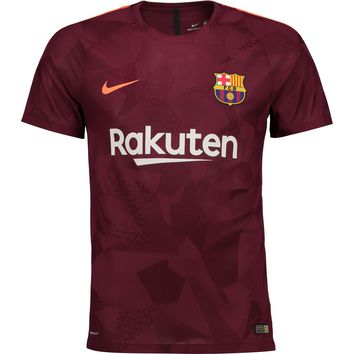 KUYOU Barcelona 2017/18 Third Away Men Soccer Jersey Personalized Name and Number